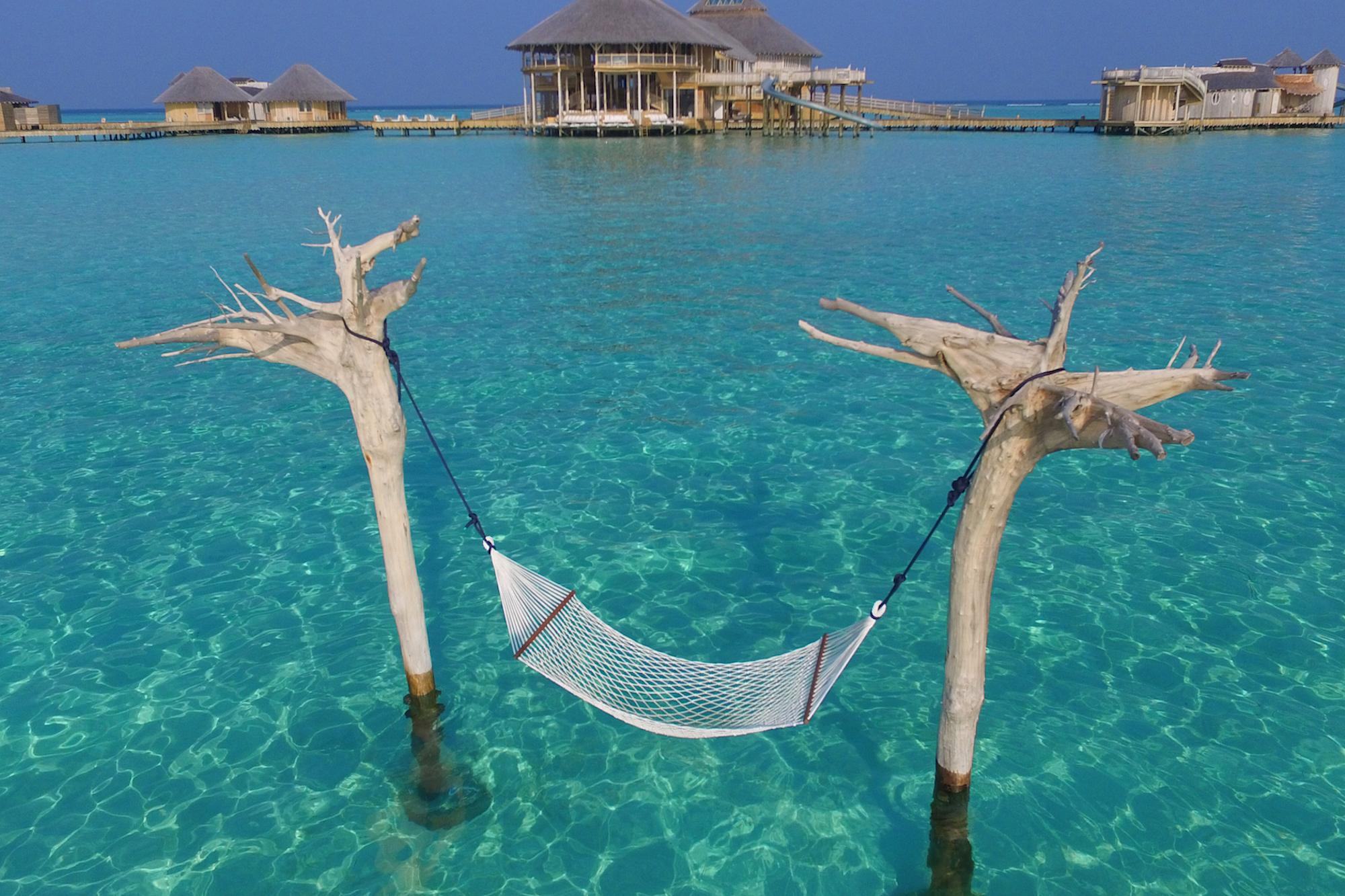 Maldives Soneva Jani Water Hammock