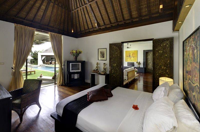Majapahit Villa Maya Bedroom with Pool View | Sanur, Bali