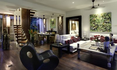 Majapahit Villa Nataraja Living Area | Sanur, Bali