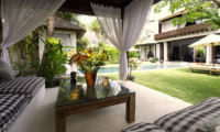 Majapahit Villa Raj Pool Side Seating Area | Sanur, Bali
