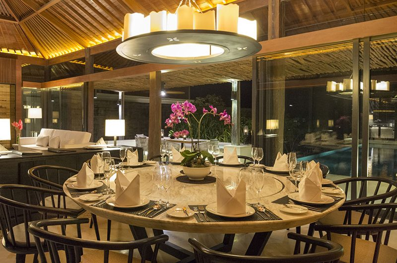 Sohamsa Ocean Estate Villa Hamsa Living and Dining Area with Pool View | Ungasan, Bali