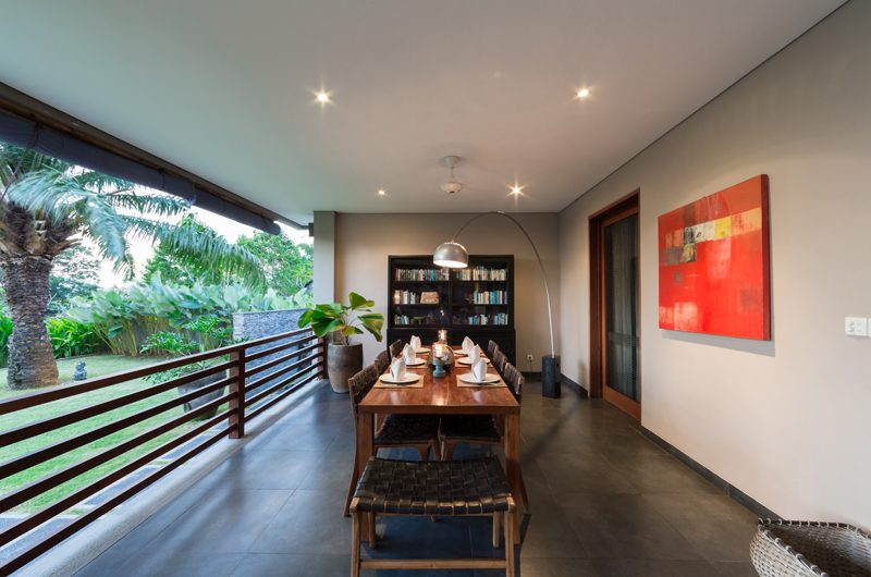The Uma Villa Dining Area | Canggu, Bali