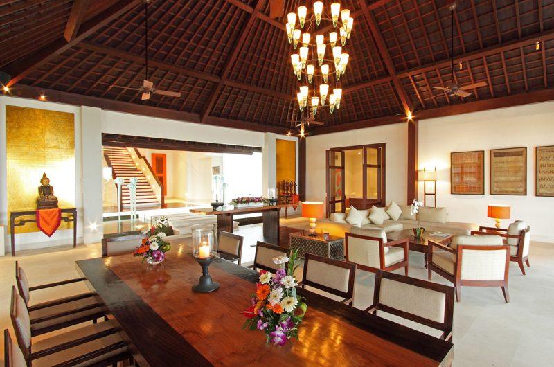 Villa Cahaya Indoor Living Area   Ungasan, Bali