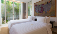 Villa Canggu Villa Canggu South Bedroom with Twin Beds | Canggu, Bali