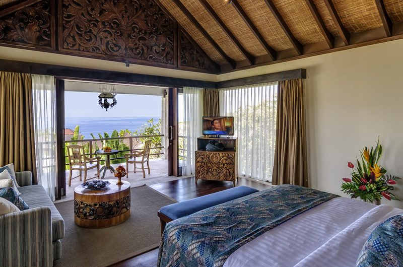 Villa Cantik Pandawa Bedroom and Balcony | Ungasan, Bali