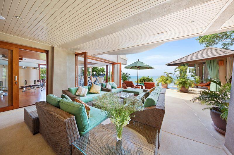 Villa Uno Open Plan Living Area | Choeng Mon, Koh Samui