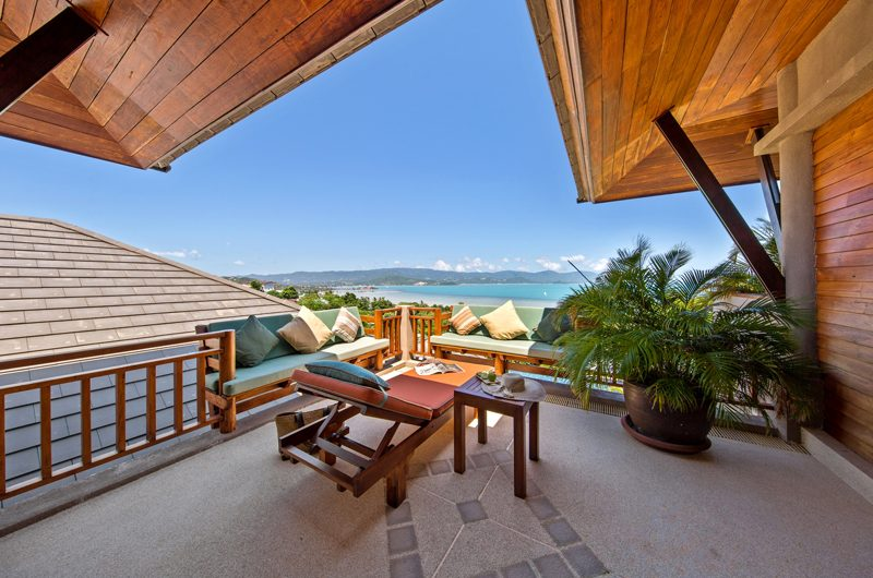 Villa Uno Open Plan Lounge Area | Choeng Mon, Koh Samui