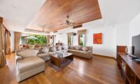 Villa Uno Living Room | Choeng Mon, Koh Samui