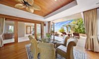 Villa Uno Open Plan Living Room | Choeng Mon, Koh Samui