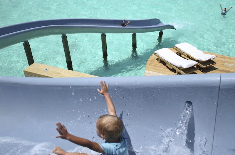 Soneva Jani Water Slide