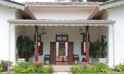 JH Villa Entrance | Galle, Sri Lanka