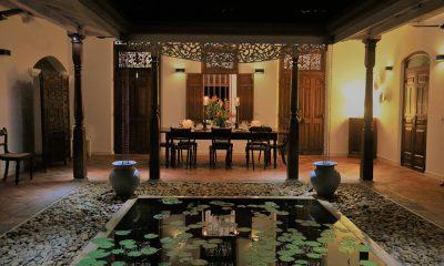 JH Villa Indoor Dining Area | Galle, Sri Lanka