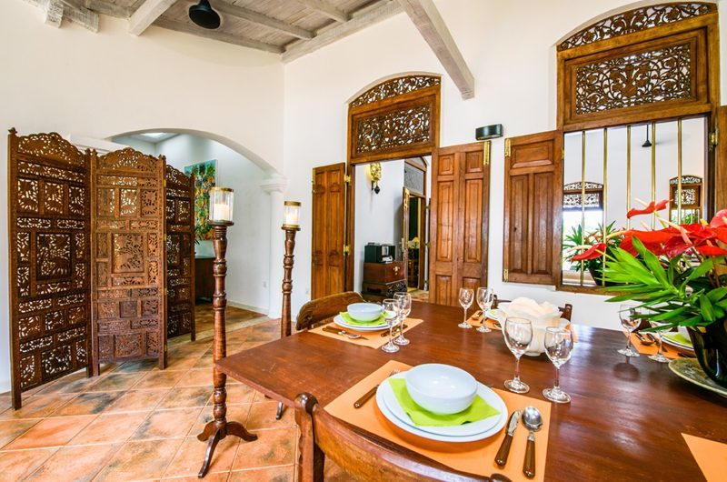 JH Villa Dining Area | Galle, Sri Lanka