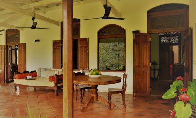 JH Villa Outdoor Seating Area | Galle, Sri Lanka