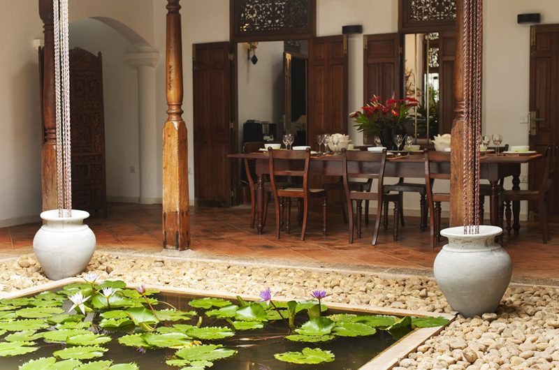 JH Villa Pond Side Dining | Galle, Sri Lanka