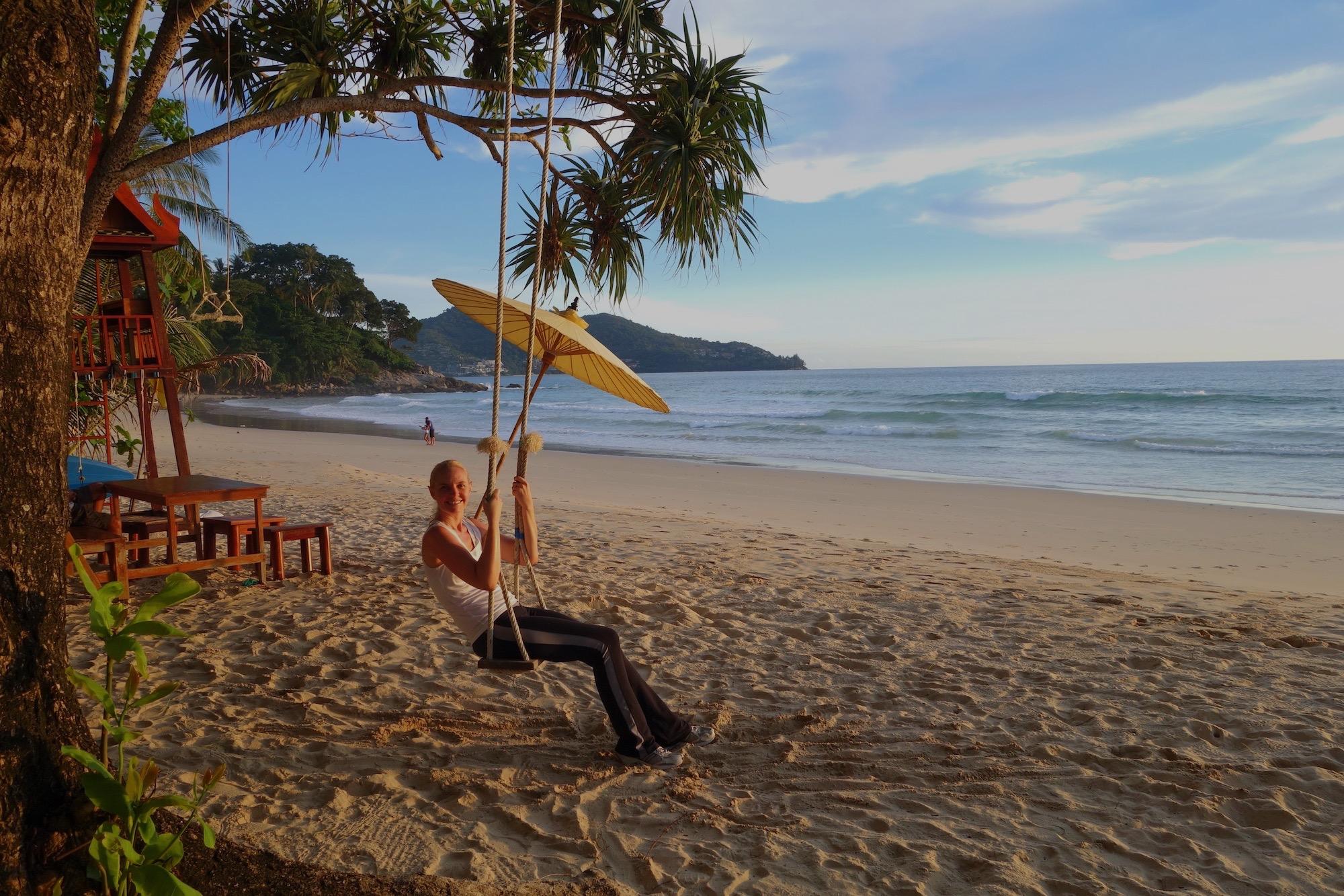 Thailand Beach Swing