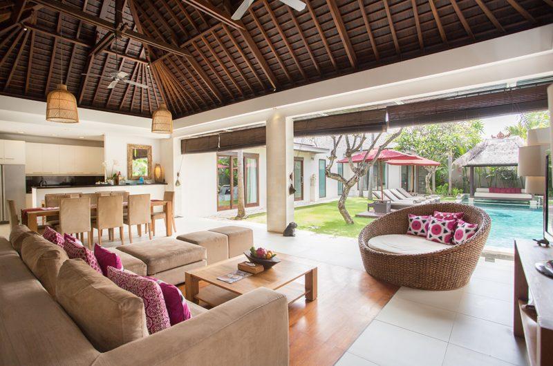 Chandra Villas Chandra Villas 3 Indoor Living and Dining Area | Seminyak, Bali