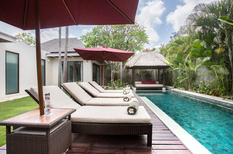 Chandra Villas Chandra Villas 3 Reclining Sun Loungers | Seminyak, Bali