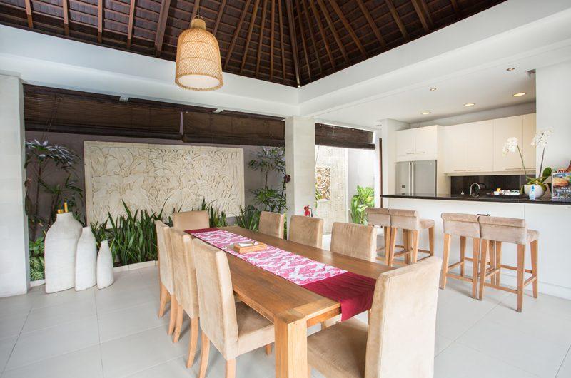 Chandra Villas Chandra Villas 3 Kitchen and Dining Area | Seminyak, Bali