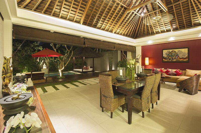 Chandra Villas Chandra Villas 3a Living and Dining Area | Seminyak, Bali