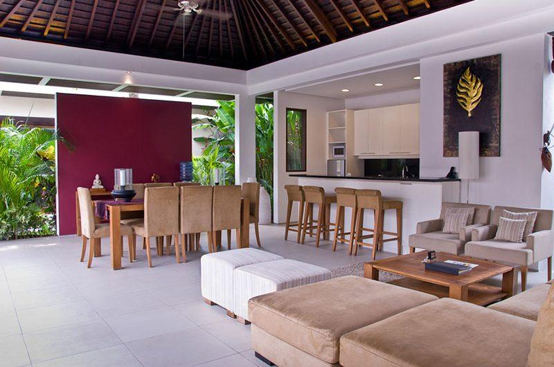 Chandra Villas Chandra Villas 5 Living and Dining Area | Seminyak, Bali