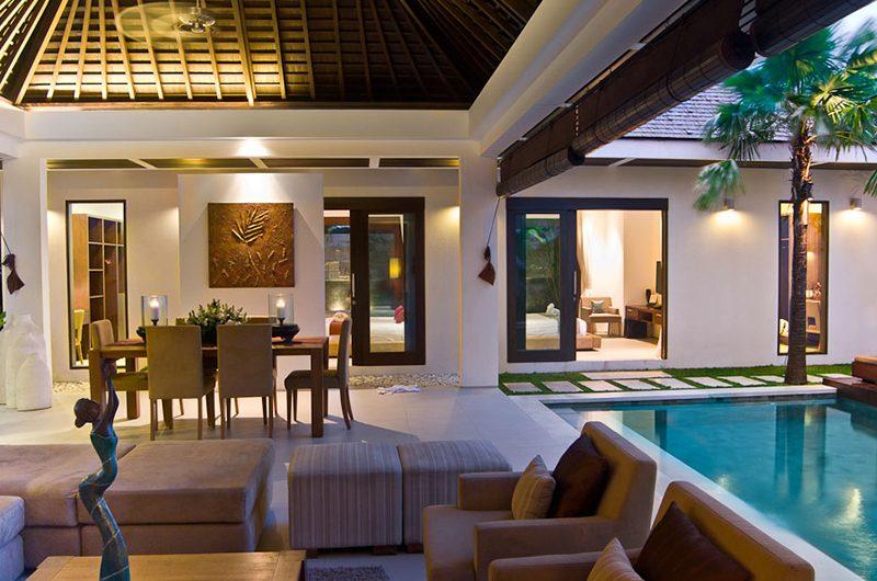 Chandra Villas Chandra Villas 6 Pool Side Dining | Seminyak, Bali