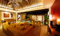 Chandra Villas Chandra Villas 6 Indoor Living Area with Pool View | Seminyak, Bali