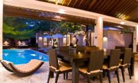 Chandra Villas Chandra Villas 8 Dining Area | Seminyak, Bali