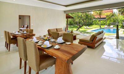 Sativa Villas Villa Cempaka Dining Area   Ubud, Bali