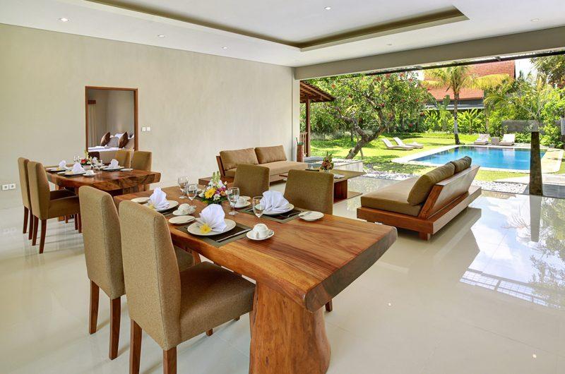 Sativa Villas Villa Cempaka Dining Area | Ubud, Bali