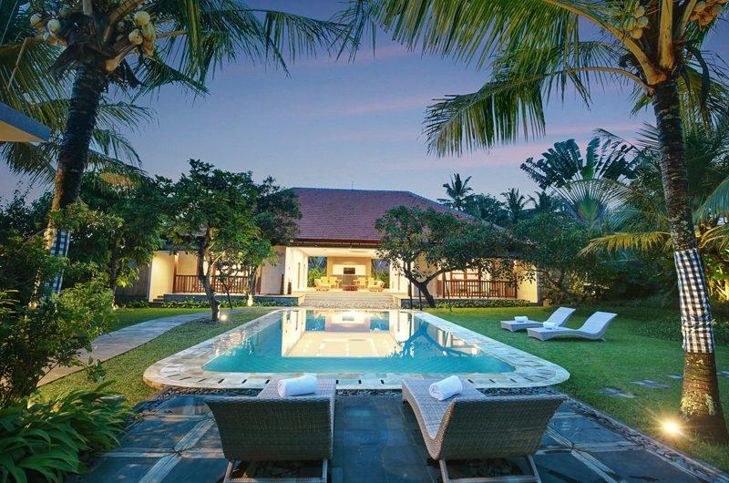 Sativa Villas Villa Cempaka Swimming Pool   Ubud, Bali
