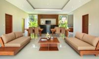 Sativa Villas Villa Cempaka Living and Dining Area   Ubud, Bali