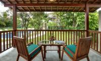 Sativa Villas Villa Cempaka Balcony   Ubud, Bali