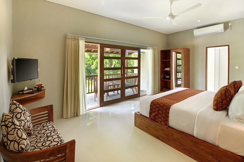 Sativa Villas Villa Cempaka King Size Bed with View | Ubud, Bali
