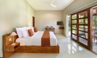 Sativa Villas Villa Cempaka Bedroom and Balcony   Ubud, Bali