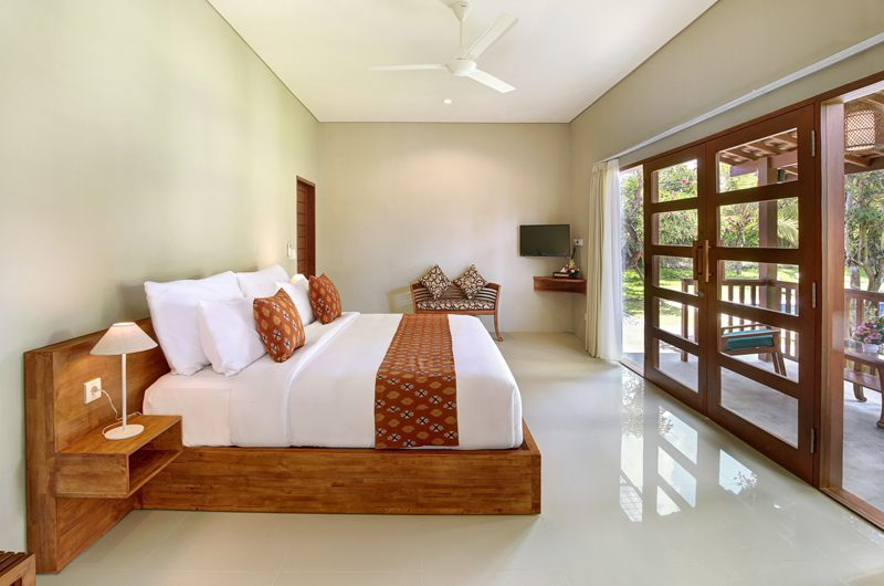 Sativa Villas Villa Cempaka Bedroom and Balcony | Ubud, Bali