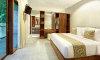 Sativa Villas Villa Gardenia Bedroom and Balcony | Ubud, Bali