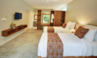 Sativa Villas Villa Gardenia Twin Bedroom | Ubud, Bali