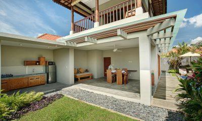 Sativa Villas Villa Jasmine Outdoor Dining | Ubud, Bali