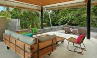 Sativa Villas Villa Orchid Open Plan Lounge Area | Ubud, Bali