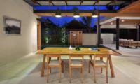 Sativa Villas Villa Orchid Dining Area | Ubud, Bali
