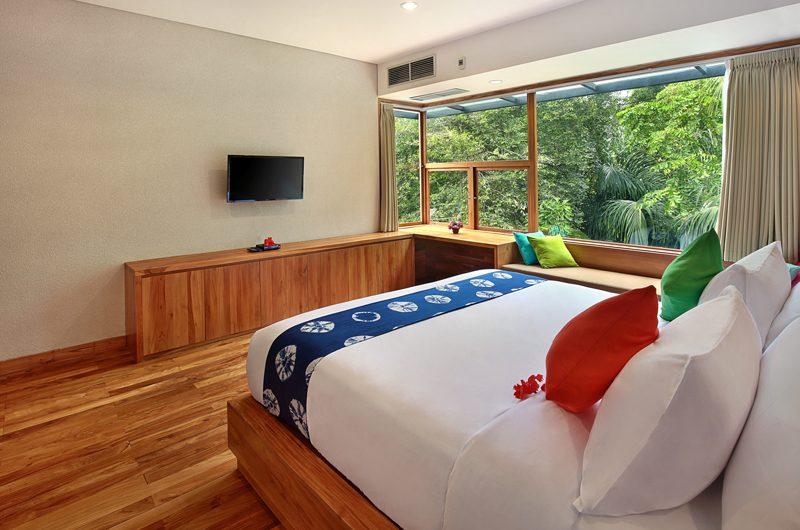 Sativa Villas Villa Orchid Bedroom View | Ubud, Bali