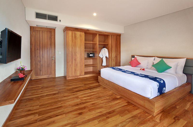 Sativa Villas Villa Orchid Bedroom with TV | Ubud, Bali