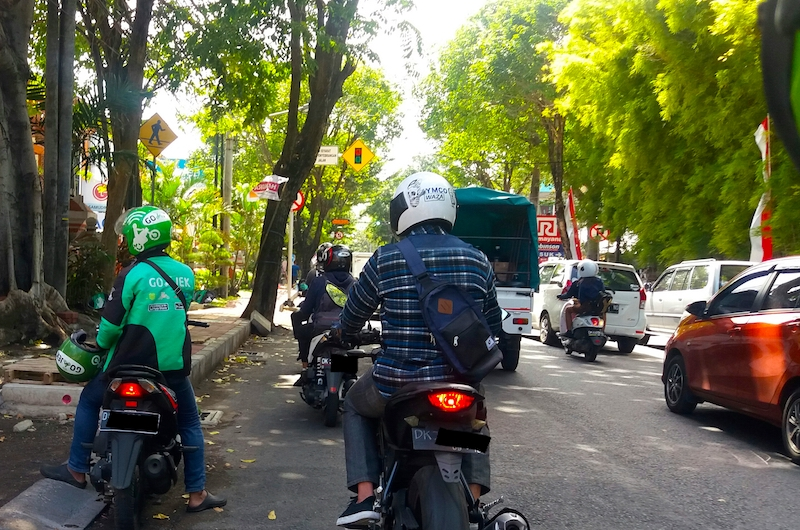 Bali Transport Go-Jek
