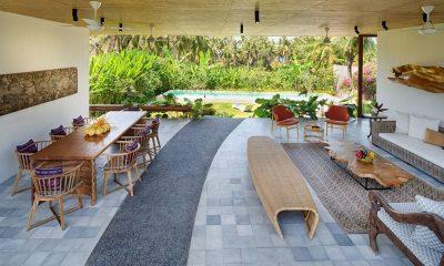 Villa Casabama Villa Casabama Panggung Living and Dining Area with Pool View | Gianyar, Bali