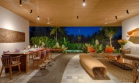 Villa Casabama Villa Casabama Panggung Living and Dining Area | Gianyar, Bali