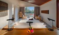 Villa Casabama Villa Casabama Panggung Bedroom with Seating Area | Gianyar, Bali