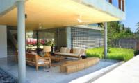 Villa Casabama Villa Casabama Sandiwara Indoor Living Area with Garden View   Gianyar, Bali