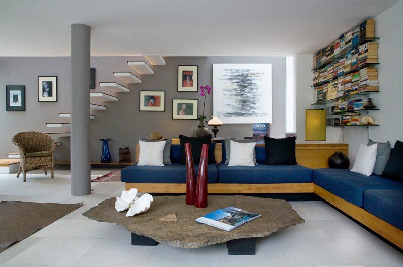 Villa Rio Living and Study Area | Seminyak, Bali