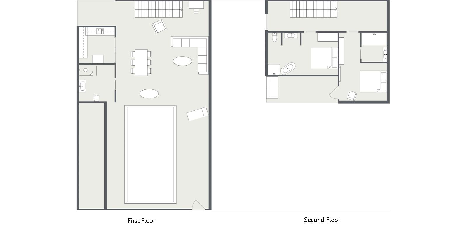 Villa Rio Floor Plan | Seminyak, Bali